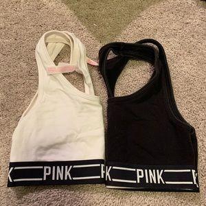 2 Victoria's Secret PINK sports bras